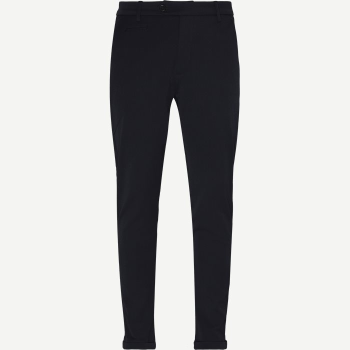 Como Suit Pants - Bukser - Slim - Blå