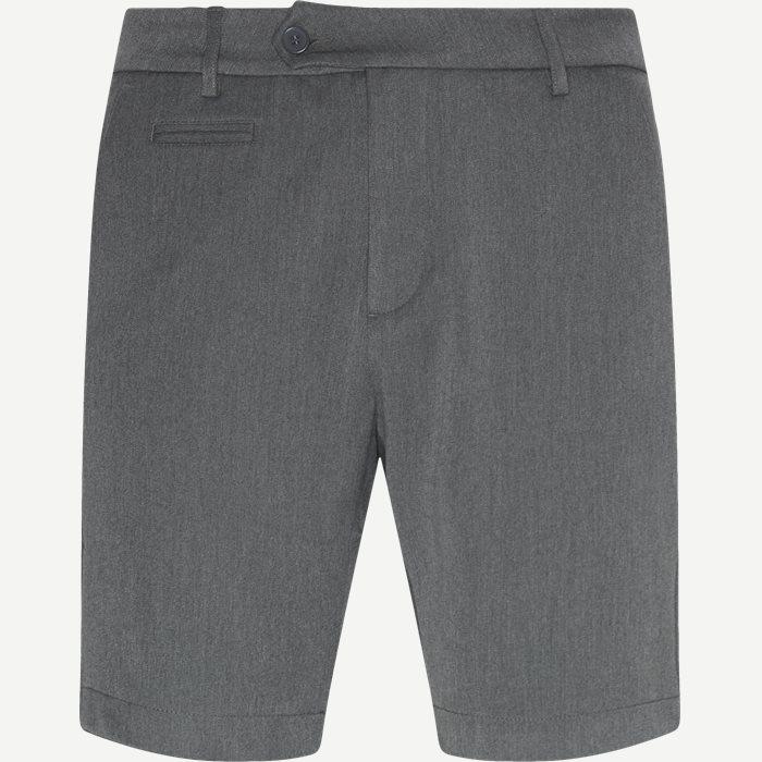 Shorts - Slim - Grau