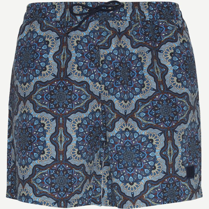 Psycadelic Swimshorts - Shorts - Regular - Blå