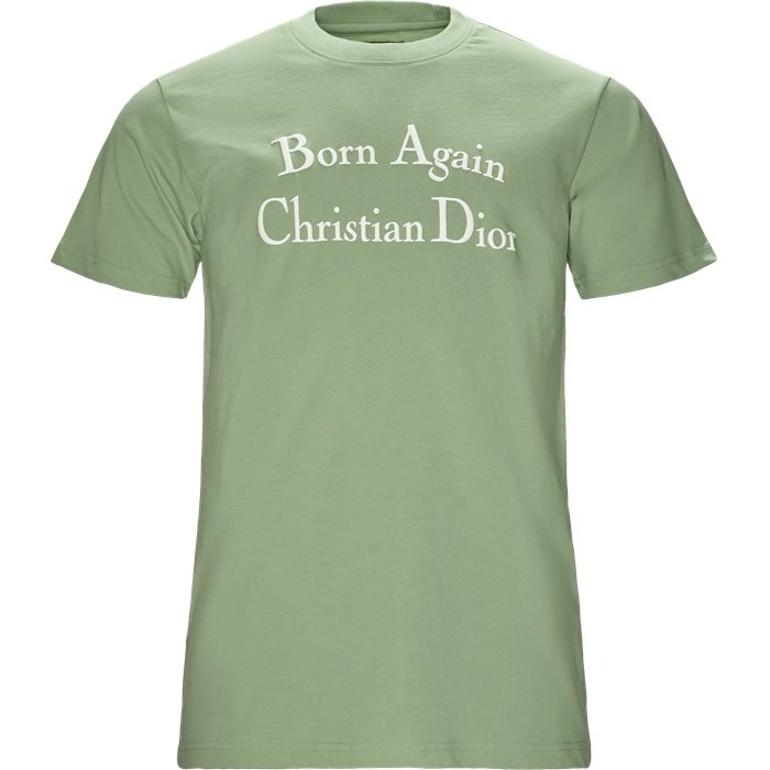 Born Again - T-shirts - Regular - Turkis