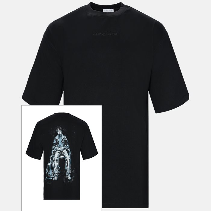 T-shirts - Oversized - Black