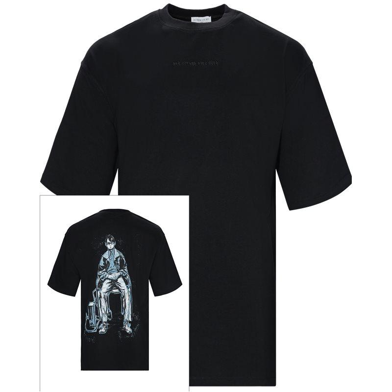 Billede af IH NOM UH NIT Oversized NMS19230 T-shirts Black