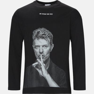 Oversized | Long-sleeved T-shirts | Black
