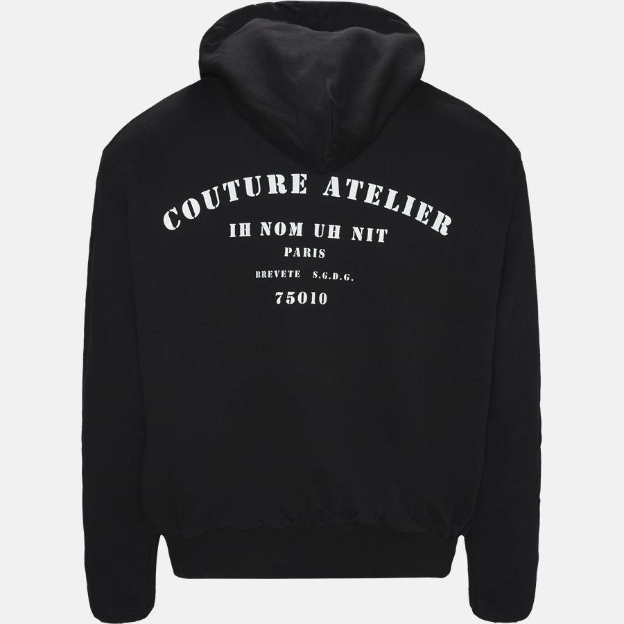 NUS19275 - Sweatshirts - Oversized - BLACK - 2