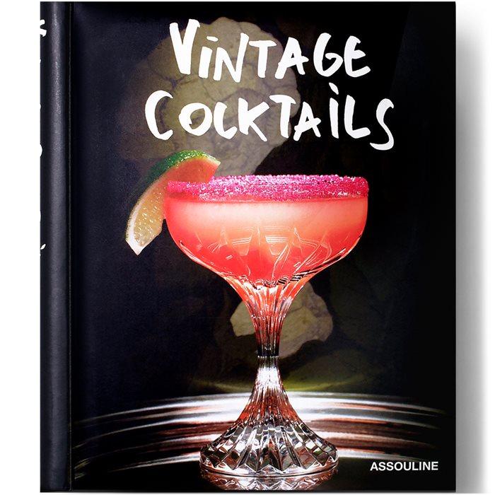 Vintage Cocktails Bog - Accessories - Hvid