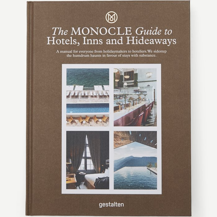 The Monocle Guide To Hotels, Inns and Hideaways - Accessories - Hvid