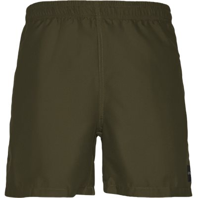 Patch Swin Shorts Straight fit | Patch Swin Shorts | Army