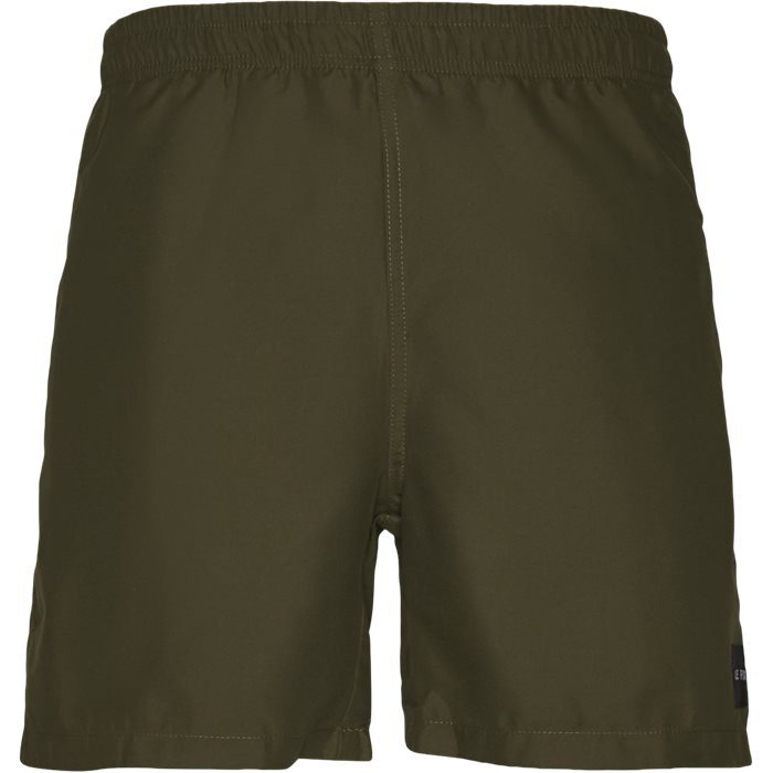 Shorts - Straight fit - Army