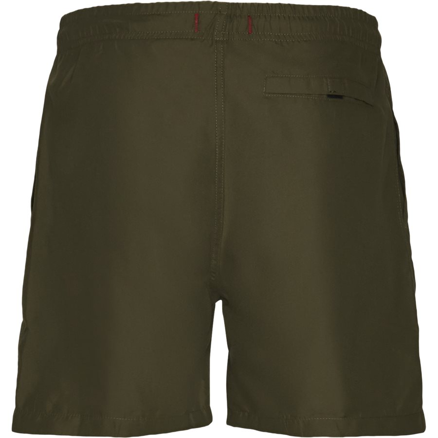 LF PATCH SWIM SHORTS 1700037 - Patch Swin Shorts - Shorts - Straight fit - ARMY - 2