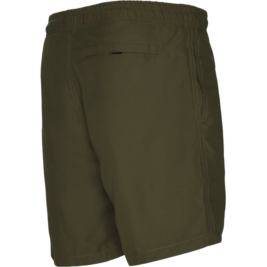 LF PATCH SWIM SHORTS 1700037 - Patch Swin Shorts - Shorts - Straight fit - ARMY - 3