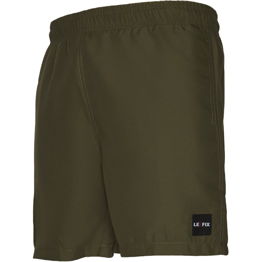 LF PATCH SWIM SHORTS 1700037 - Shorts - Straight fit - ARMY - 4