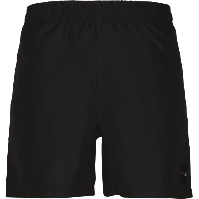 Patch Swin Shorts - Shorts - Straight fit - Sort