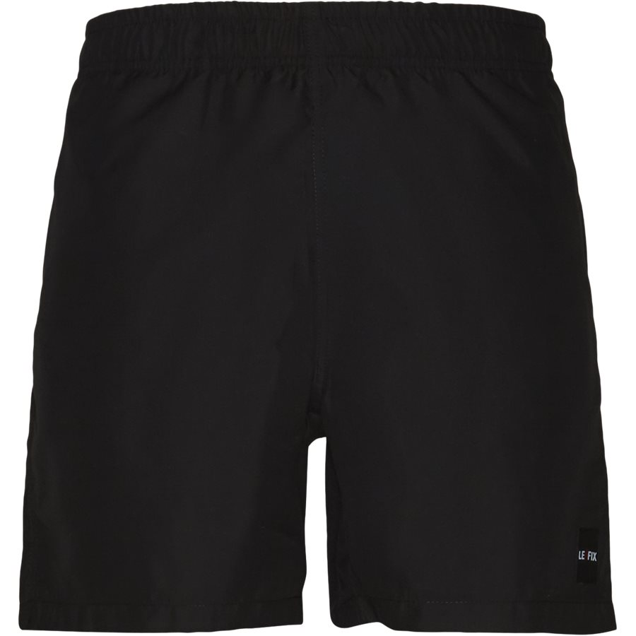 LF PATCH SWIM SHORTS 1700037 - Patch Swin Shorts - Shorts - Straight fit - SORT - 1
