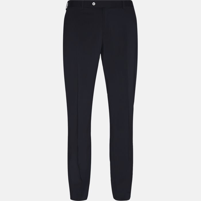 Trousers - Slim - Blue