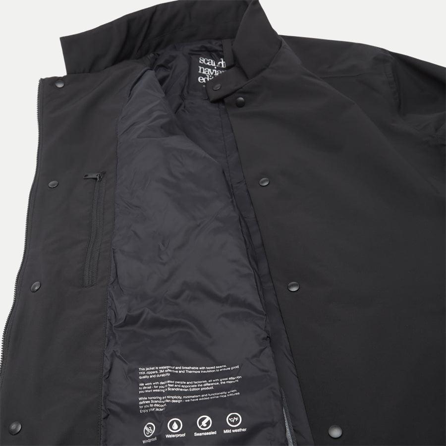 CAVAI JACKET MEN - Jackets - Regular - SORT - 10