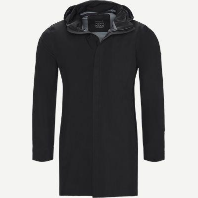 Mac Coat Men Jacket Regular | Mac Coat Men Jacket | Sort