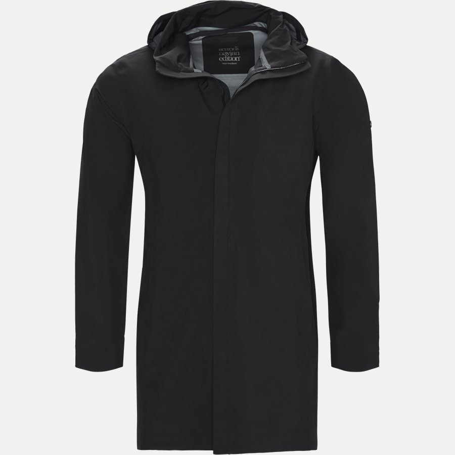 MAC COAT MEN - Mac Coat Men Jacket - Jakker - Regular - SORT - 1