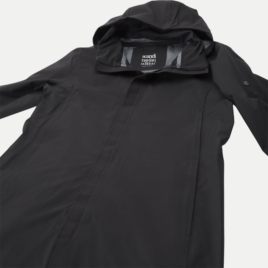 MAC COAT MEN - Jackets - Regular - SORT - 5