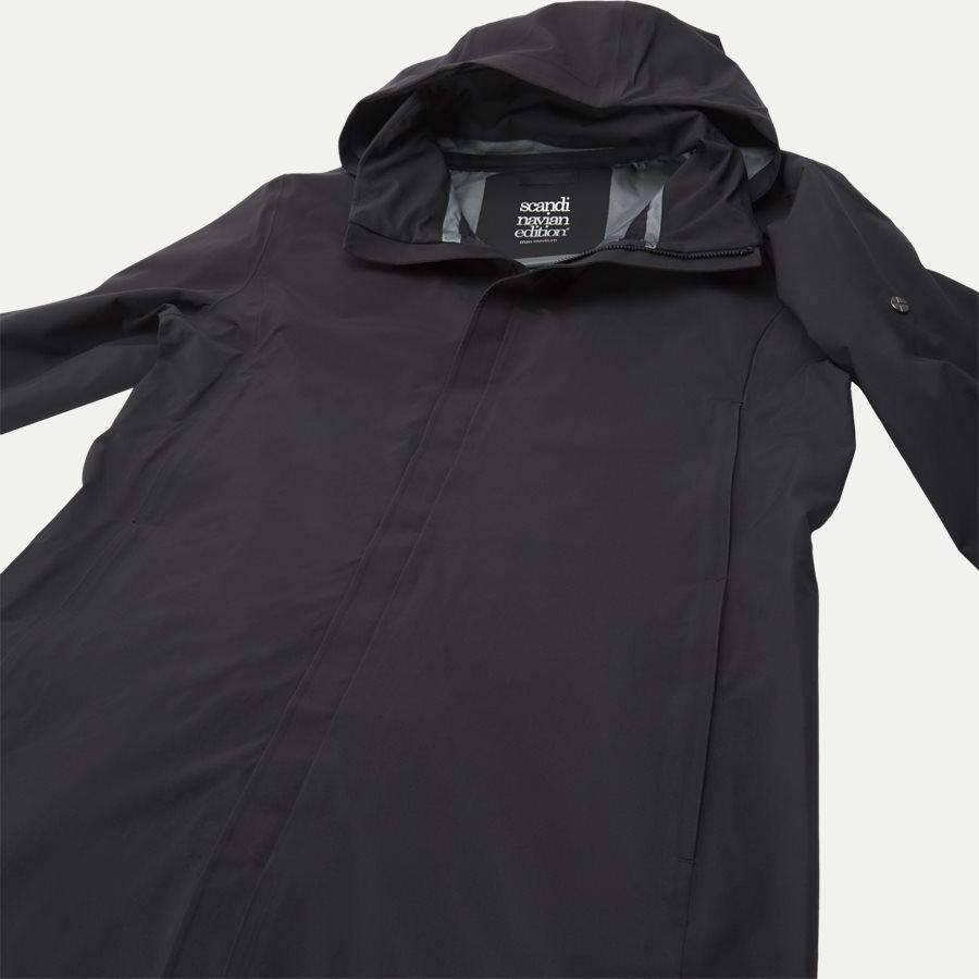 MAC COAT MEN - Mac Coat Men Jacket - Jakker - Regular - SORT - 5