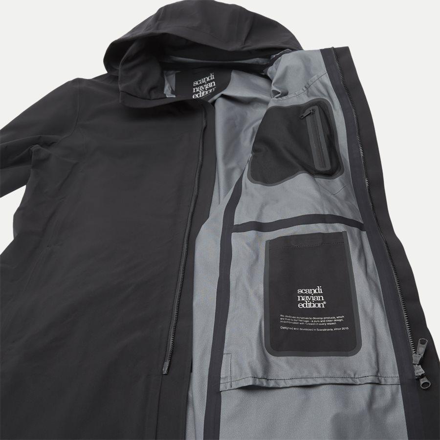 MAC COAT MEN - Mac Coat Men Jacket - Jakker - Regular - SORT - 6