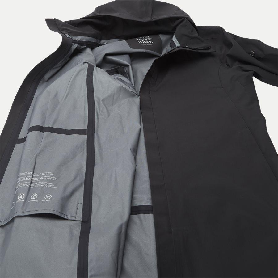 MAC COAT MEN - Mac Coat Men Jacket - Jakker - Regular - SORT - 7