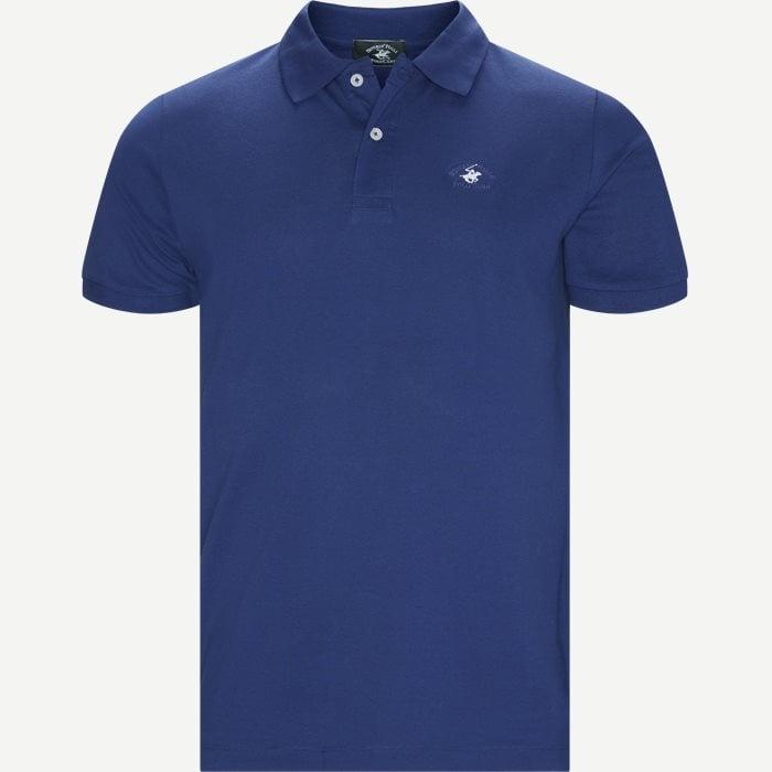 Maglia Polo Piquet - T-shirts - Regular - Denim