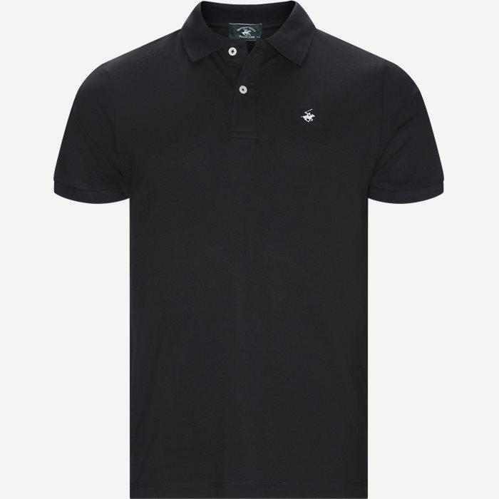 Maglia Polo Piquet - T-shirts - Regular - Sort