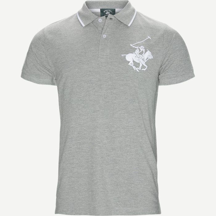 Maglia Polo Piquet - T-shirts - Regular - Grå