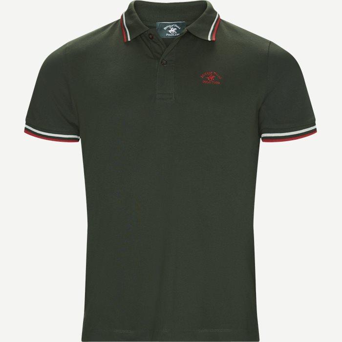 Maglia Polo Piquet - T-shirts - Regular - Army