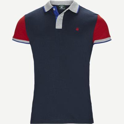 Maglia Polo Piquet T-shirt Regular | Maglia Polo Piquet T-shirt | Blå
