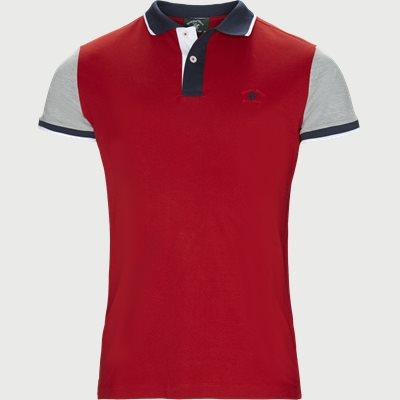 Maglia Polo Piquet T-shirt Regular | Maglia Polo Piquet T-shirt | Rød