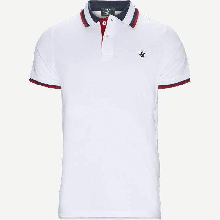 Maglia Polo Piquet - T-shirts - Regular - Hvid