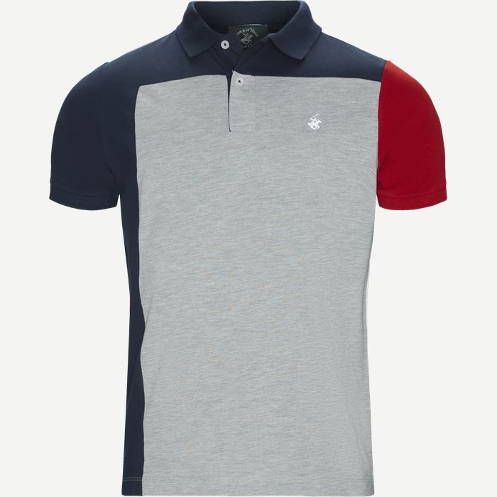 Maglia Polo Piquet T-shirt - T-shirts - Regular - Grå