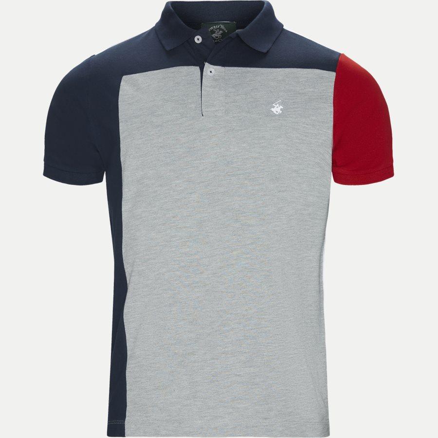 BHPC5239 POLO SS - Maglia Polo Piquet T-shirt - T-shirts - Regular - GRÅ - 1