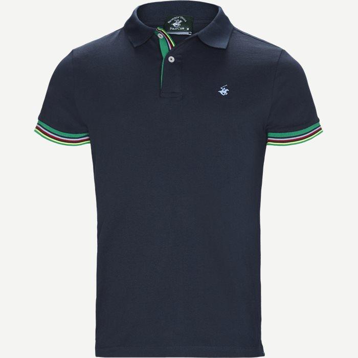 Maglia Polo Piquet - T-shirts - Regular - Blå