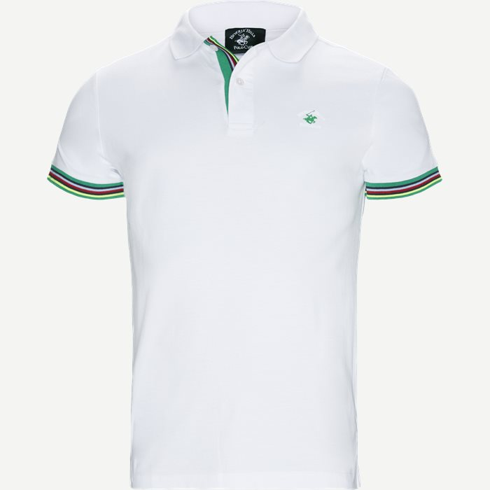 Maglia Polo Piquet - T-shirts - Regular - Hvid