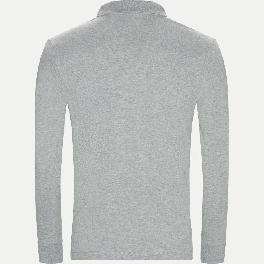 BHPC5258 POLO LS - Maglia Polo Piquet - T-shirts - Regular - GRÅ - 2