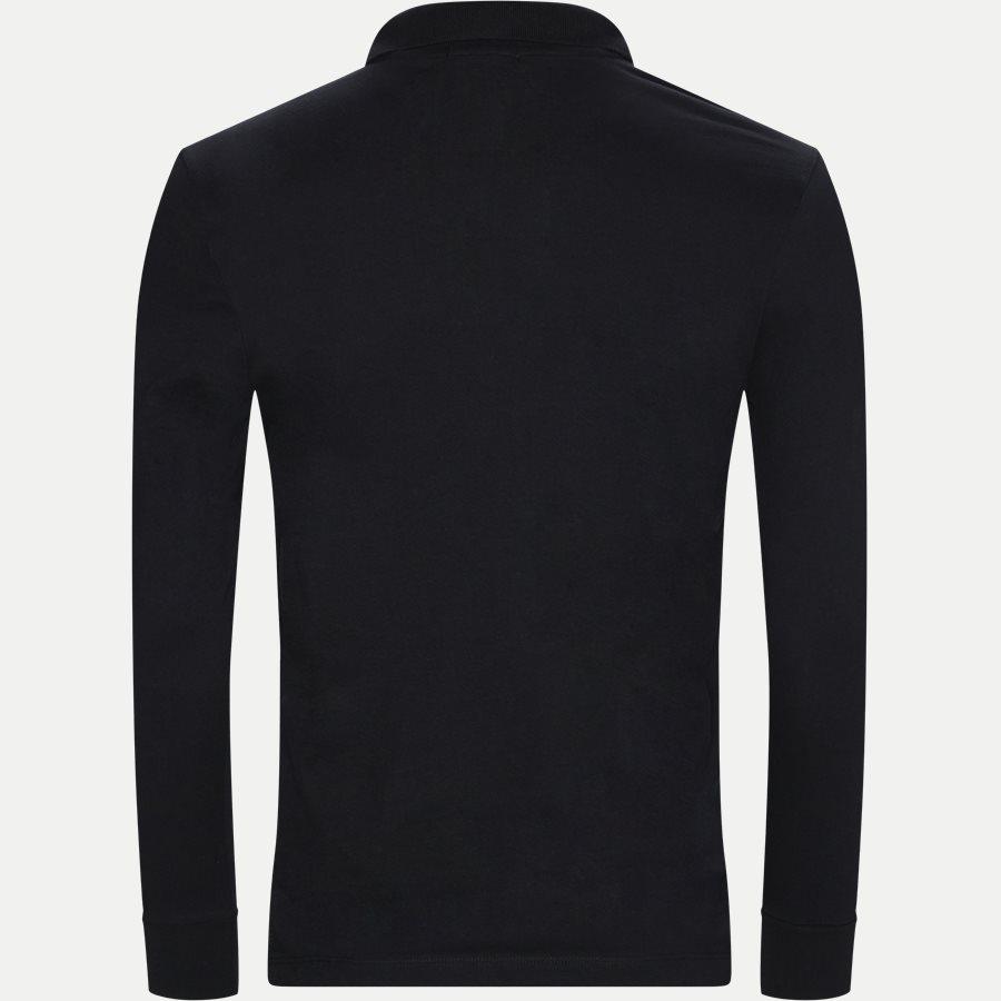 BHPC5258 POLO LS - Maglia Polo Piquet - T-shirts - Regular - SORT - 2