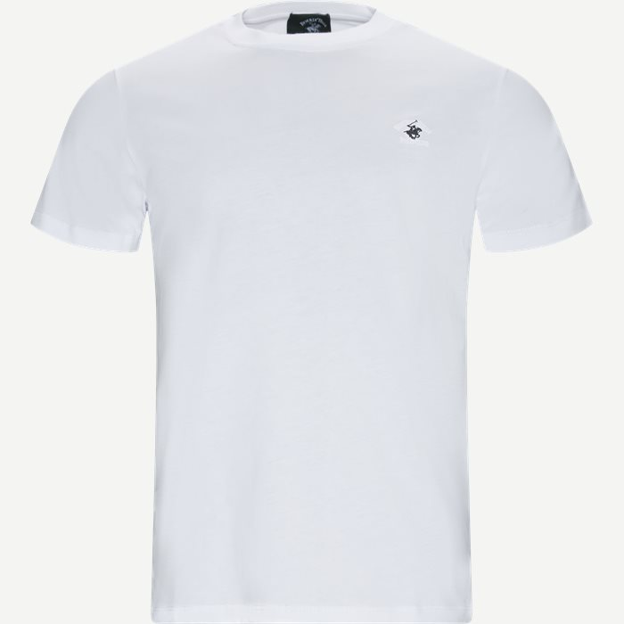 Maglia Jersey T-shirt - T-shirts - Regular - Hvid