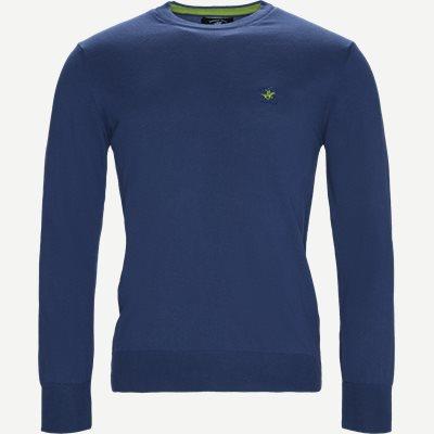 Pullover Striktrøje Regular | Pullover Striktrøje | Denim