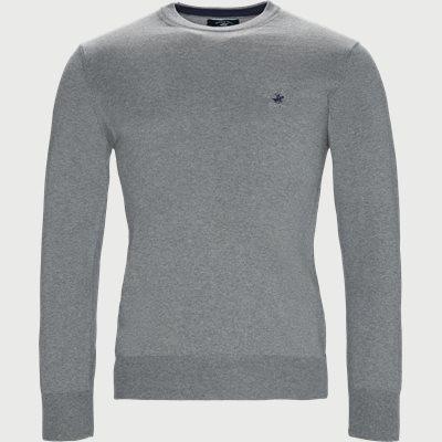 Pullover Striktrøje Regular | Pullover Striktrøje | Grå