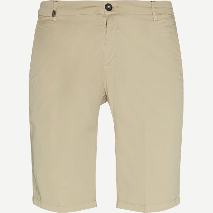 Bermuda Chinos - Shorts - Slim - Sand
