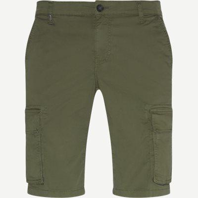 Bermuda Cargo Shorts Slim | Bermuda Cargo Shorts | Army
