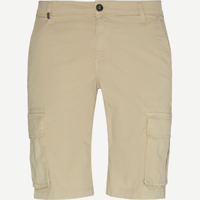 Bermuda Cargo Shorts - Shorts - Slim - Sand