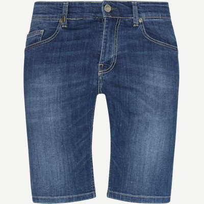 Bermuda Jeans Chino Shorts Slim | Bermuda Jeans Chino Shorts | Blå