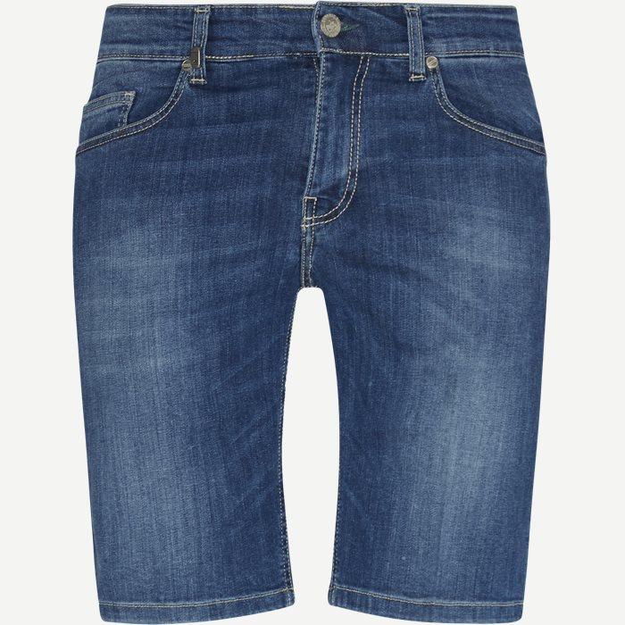 Shorts - Slim - Blau