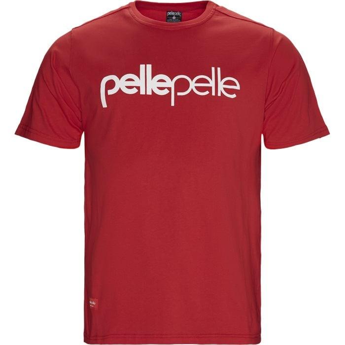Dots T-shirt - T-shirts - Regular - Rød