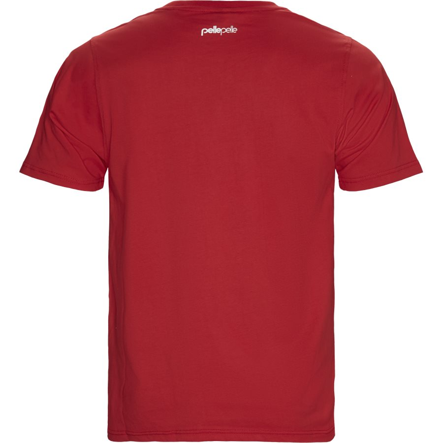 PP3007 COREPORATE DOTS T-SHIRT - Dots T-shirt - T-shirts - Regular - RØD - 2