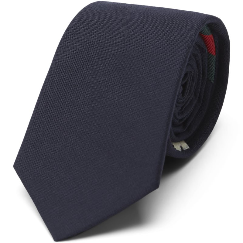 Image of   An Ivy - Taped Navy Slips