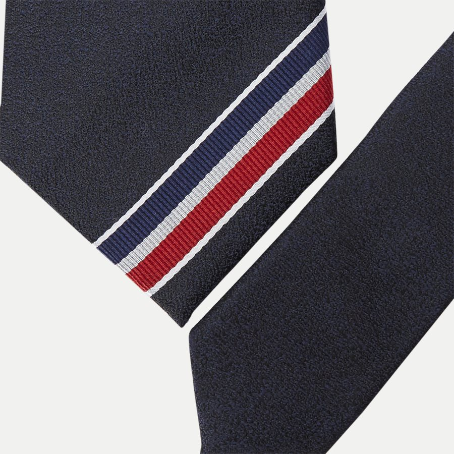THE SILK TRICOLORE - The Silk Tricolore Slips - Slips - NAVY - 2